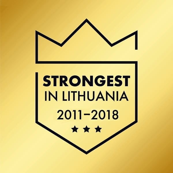 strongest in Lithuania rating